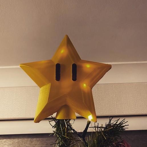 Download free STL file Super Mario Tree Star, 3dprintnortheast