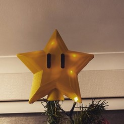 Download free STL file Super Mario Tree Star • 3D printing object, 3dprintnortheast