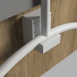 Ironing board mount v12_Bracket.png Download free STL file Ironing board wall mount • 3D printing object, 3dprintnortheast