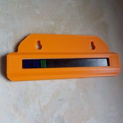 1-vue -imprime.jpg Télécharger fichier STL gratuit porteur de thermomètre en bande noire • Design imprimable en 3D, honorin
