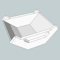 Imprimir en 3D gratis bandeja de oro 2, honorin