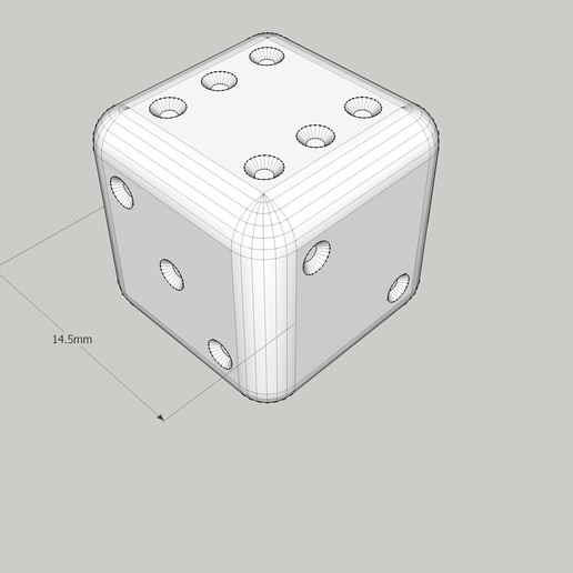 dé-size.jpg Download free STL file dice, stuffing article • 3D printable model, honorin