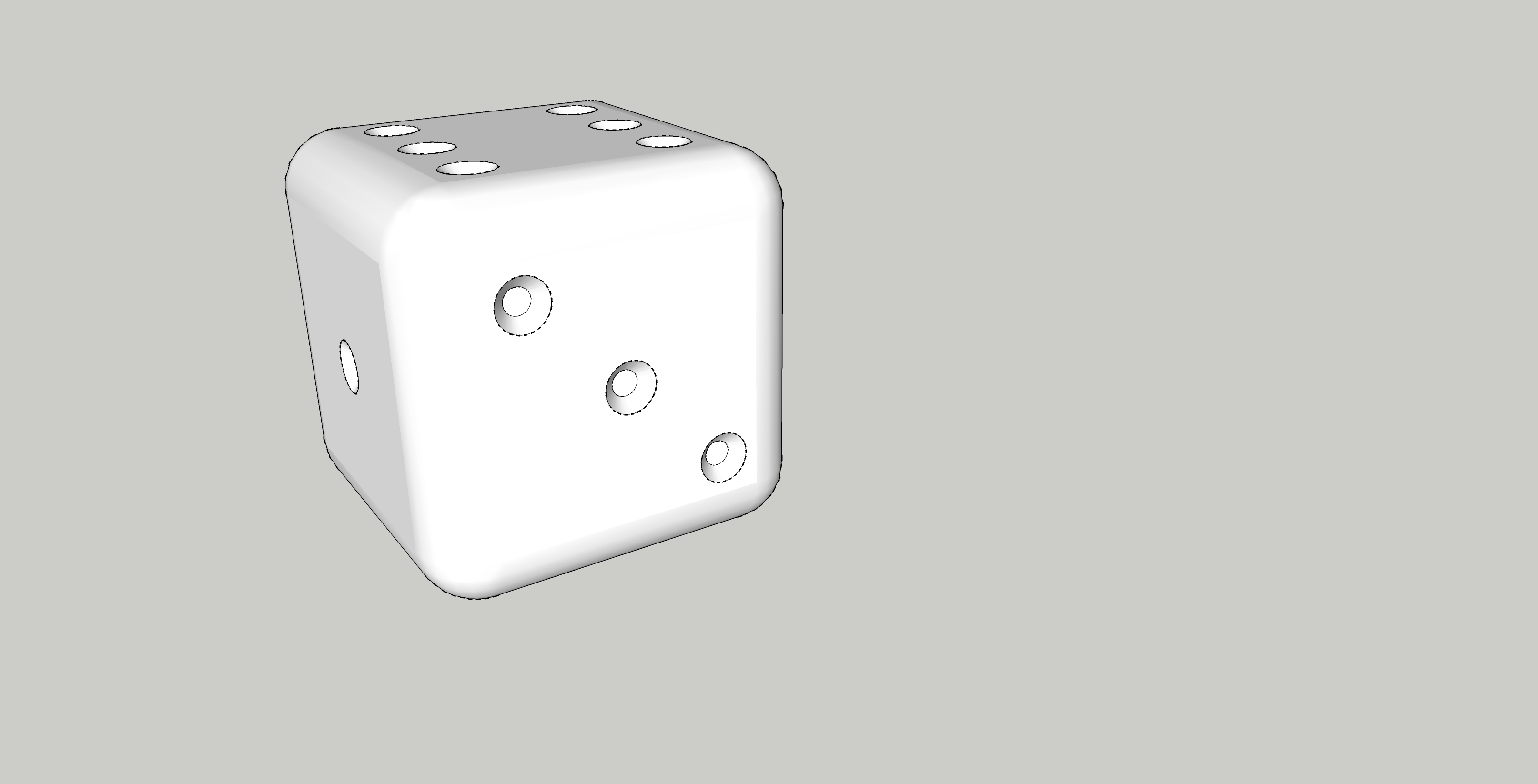 dé.jpg Download free STL file dice, stuffing article • 3D printable model, honorin