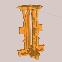 Impresiones 3D gratis jaula para termómetro Galileo, honorin