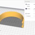 Download free 3D printing templates REPLACEMENT HEADBAND Letscom H10 Wireless Bluetooth Headphones, chrisneese