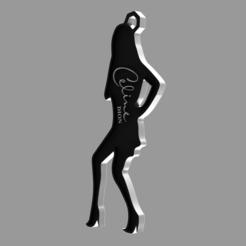 d4b278af-0648-427f-804b-7ae028536bab.PNG Download free STL file Celine Dion Keychain • 3D printing model, WSDstudio3D