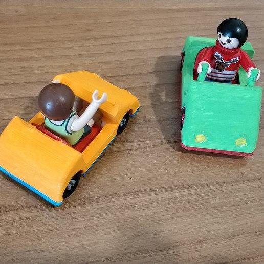 IMG_20190324_145149.jpg Download free STL file Playmobil kids mini car • Object to 3D print, sokinkeso