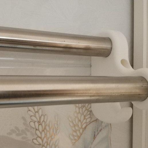 Télécharger STL gratuit Porte-serviettes de salle de bain / Porte-serviettes, sokinkeso