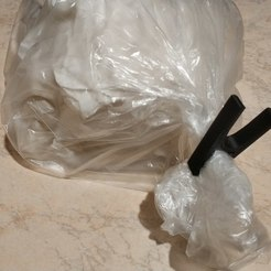 Download free 3D printer designs Springless bag closing peg, sokinkeso