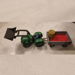 IMG_20191206_211909.jpg Download STL file Playmobil Farmer Tractor Set • 3D printable template, sokinkeso