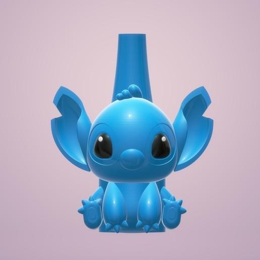 Descargar archivo STL HOOKAH/CACHIMBA/SHISHA Lilo y Stitch • Plan para la impresión en 3D, MatiSDelgado