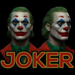 THUMB.png Télécharger fichier STL JOKER Joaquin Phoenix • Objet pour imprimante 3D, ELEVENSHOT