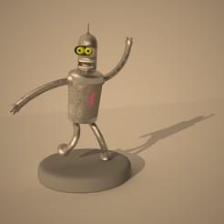 TP2_PINTODMATÍAS0002.jpg Télécharger fichier STL Bender x 2 (seulement modèle et ancienne texture Bender) • Design pour impression 3D, maticarpediem