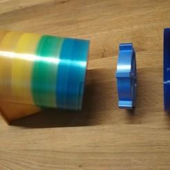 Télécharger modèle 3D gratuit Nesquik Spender oder Kaffee Pulver Spender (Distributeur), pixi2012