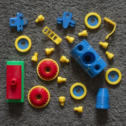 tanker_set.jpg Download STL file Toy train construction set - whole train combo • 3D print object, kozakm