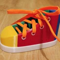 Download free STL file Toy shoe • Object to 3D print, kozakm