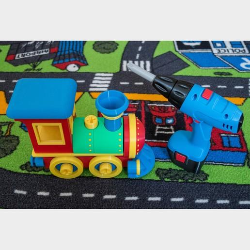 IMG_2868.jpg Télécharger fichier STL Jeu de construction de locomotives de train miniature • Plan imprimable en 3D, kozakm