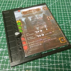 Download 3D printing templates Tainted Grail - Combat/Diplomacy card tray, lukasFa