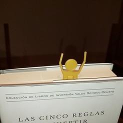 Télécharger fichier STL Marqueur de livre - Señalador Libro • Modèle pour imprimante 3D, cosmemdp