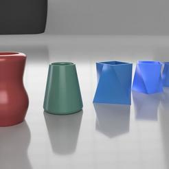 Download 3D printer files Vases Collection #1, cosmemdp