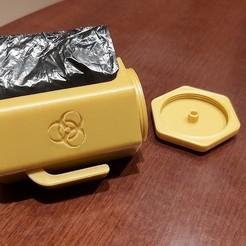 Télécharger STL Porte-sacs de crottes de chien - Rechargés, cosmemdp