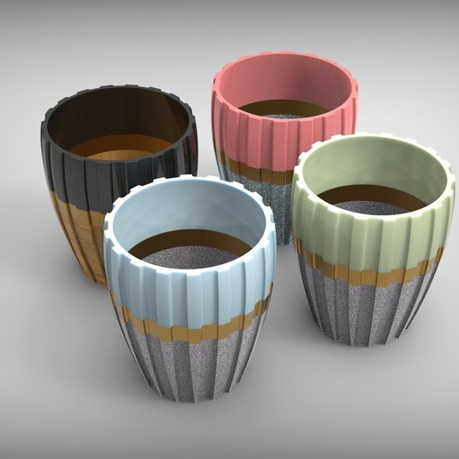 Download free 3D printer designs Vases - Indent - Outdent, cosmemdp