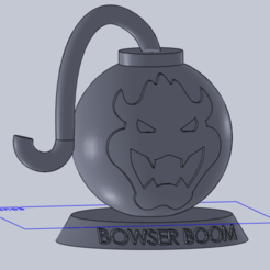Download free STL file Bowser Boom • 3D print object, robotmecatronix