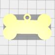 Télécharger fichier imprimante 3D gratuit Médaille d'identité pour chien, aleher96