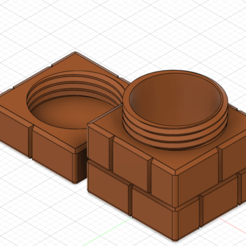 Download 3D print files Mario Stash Block, GunGeek