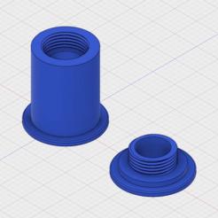 Filament_Bushing.png Télécharger fichier STL gratuit Doublure de filament • Plan à imprimer en 3D, GunGeek