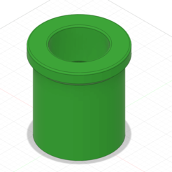 MarioStashPipe v3.png Télécharger fichier STL Mario Stash Tube Short • Plan à imprimer en 3D, GunGeek