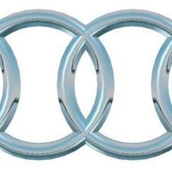 Descargar modelos 3D gratis Logo Audi, stmiki967