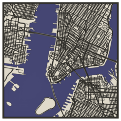 Manhattan.png Download free STL file Manhattan streets • Template to 3D print, rdusud