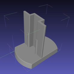 Capture d'écran 2020-04-17 à 13.14.13.png Download free STL file Cupboard T-door guide • 3D printer template, rdusud