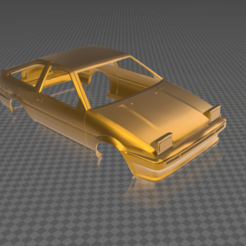 Download free STL file toyota ae86 printable bodywork 1/10 • 3D printable model, christmk3