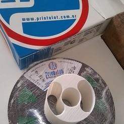 Descargar modelos 3D gratis Soporte de bobina - Printalot -  Coil holder, Gaunaco