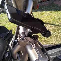 Descargar diseños 3D soporte de celular para bicicleta / moto -   bike / motorcycle cell phone holder, martincozzi11