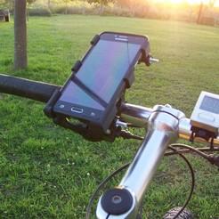 Descargar diseños 3D soporte de celular para bicicleta -  bike cell phone holder, martincozzi11