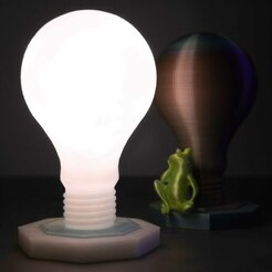 IMG_8498 quadr_ok.jpg Download free STL file The Light Bulb Lamp • 3D printing template, ilaria_3D_maker
