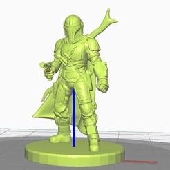 Impresiones 3D Starwars mandaloriano mini, apbreloadedagain