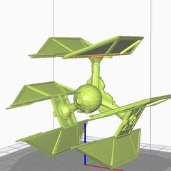 Descargar modelos 3D para imprimir Starwars Tie Defender, apbreloadedagain