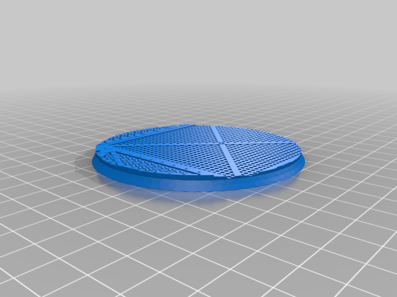 Round_80mm_base_INDR_01.png Download free STL file Sci-fi industrial bases all sizes all shapes • 3D printing template, Alario