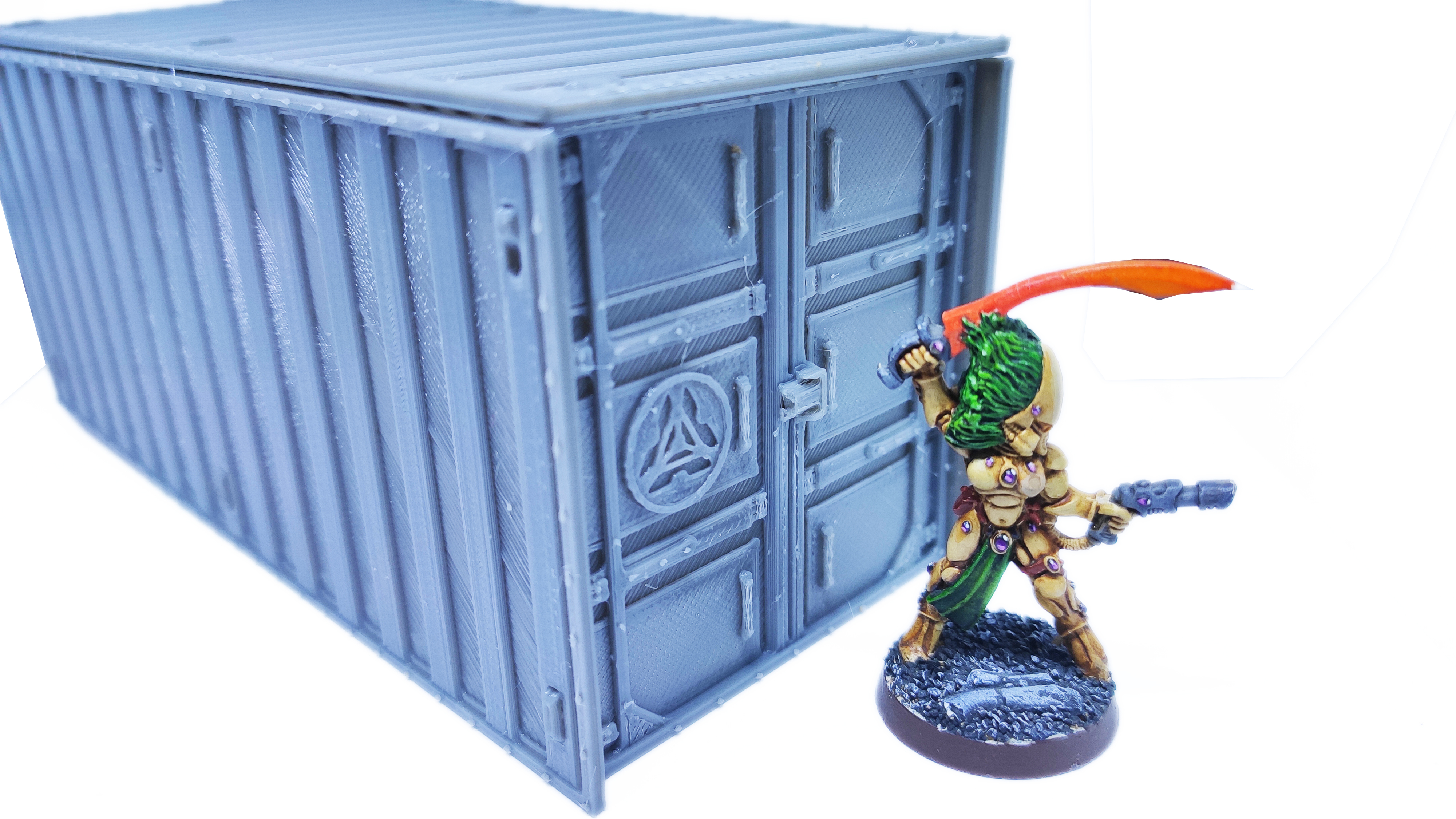 IMG_20200918_073435.jpg Download free STL file Containers for wargame terrain 6.25x6.25x15cm • Template to 3D print, Alario