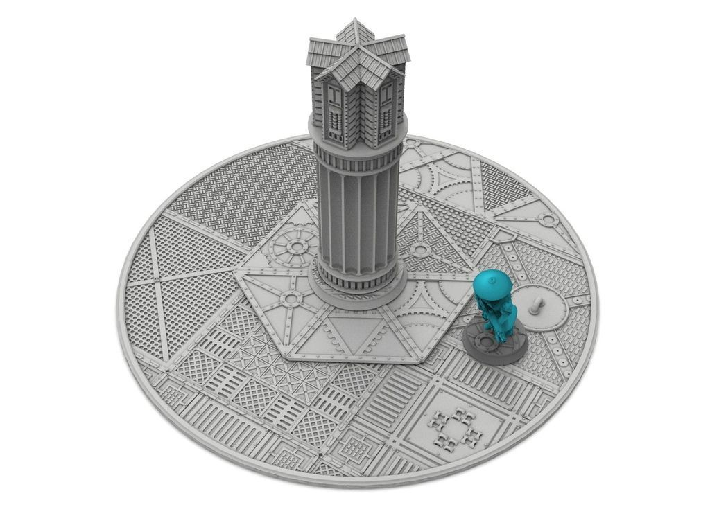 "untitled.175.jpg Download free STL file New objective markers x6 & zone, 40mm + 3"", Damocles industrial biome free content • 3D printer object, Alario"