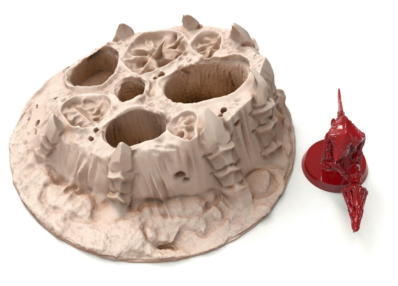 34B.jpg Télécharger fichier STL gratuit Tyty bug party terrain remix Part 3 Free 3D print model • Modèle à imprimer en 3D, Alario