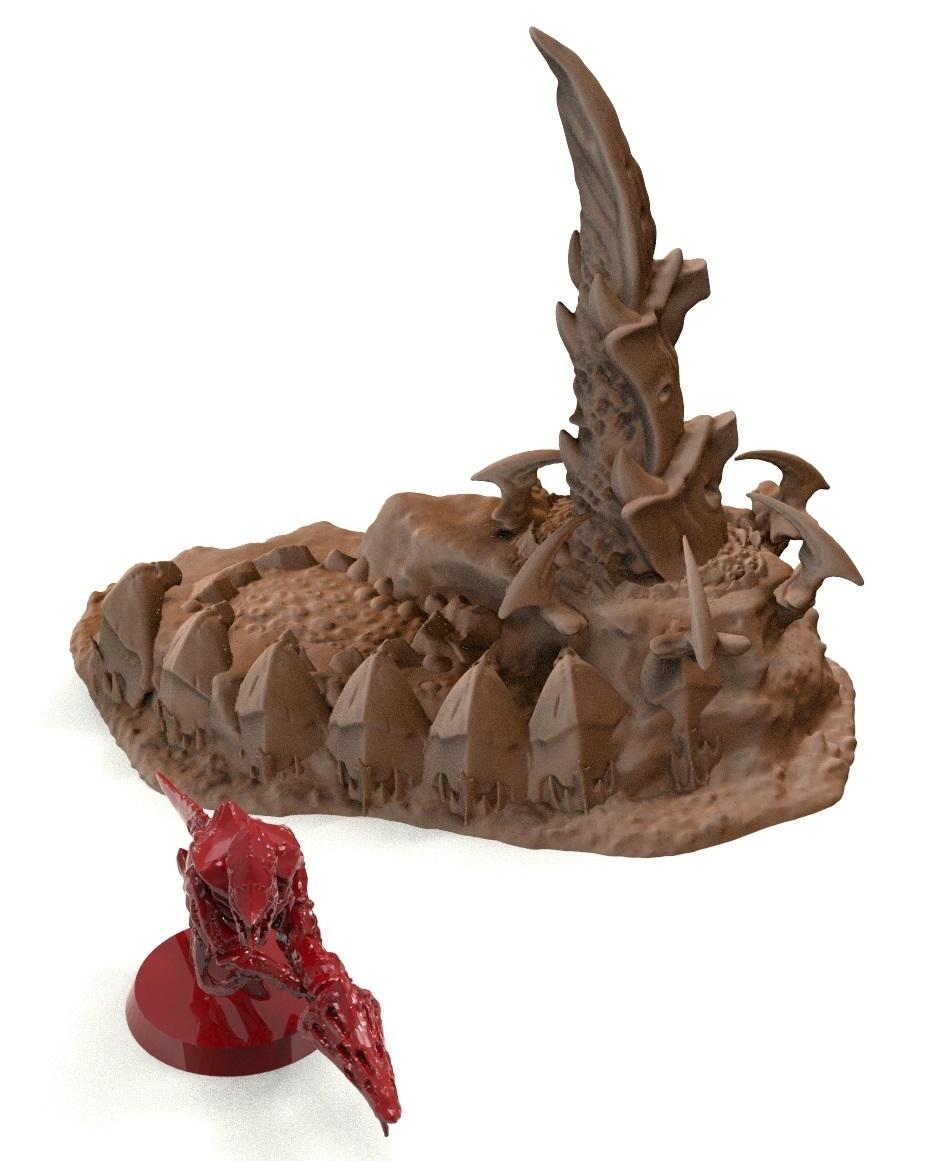 15A.jpg Télécharger fichier STL gratuit Tyty bug party terrain remix Part 1 Free 3D print model • Modèle pour imprimante 3D, Alario