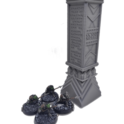 IMG_20200914_160138.png Download STL file 3D printable pillar and assorted bases for dwarf mine • 3D printer design, Alario