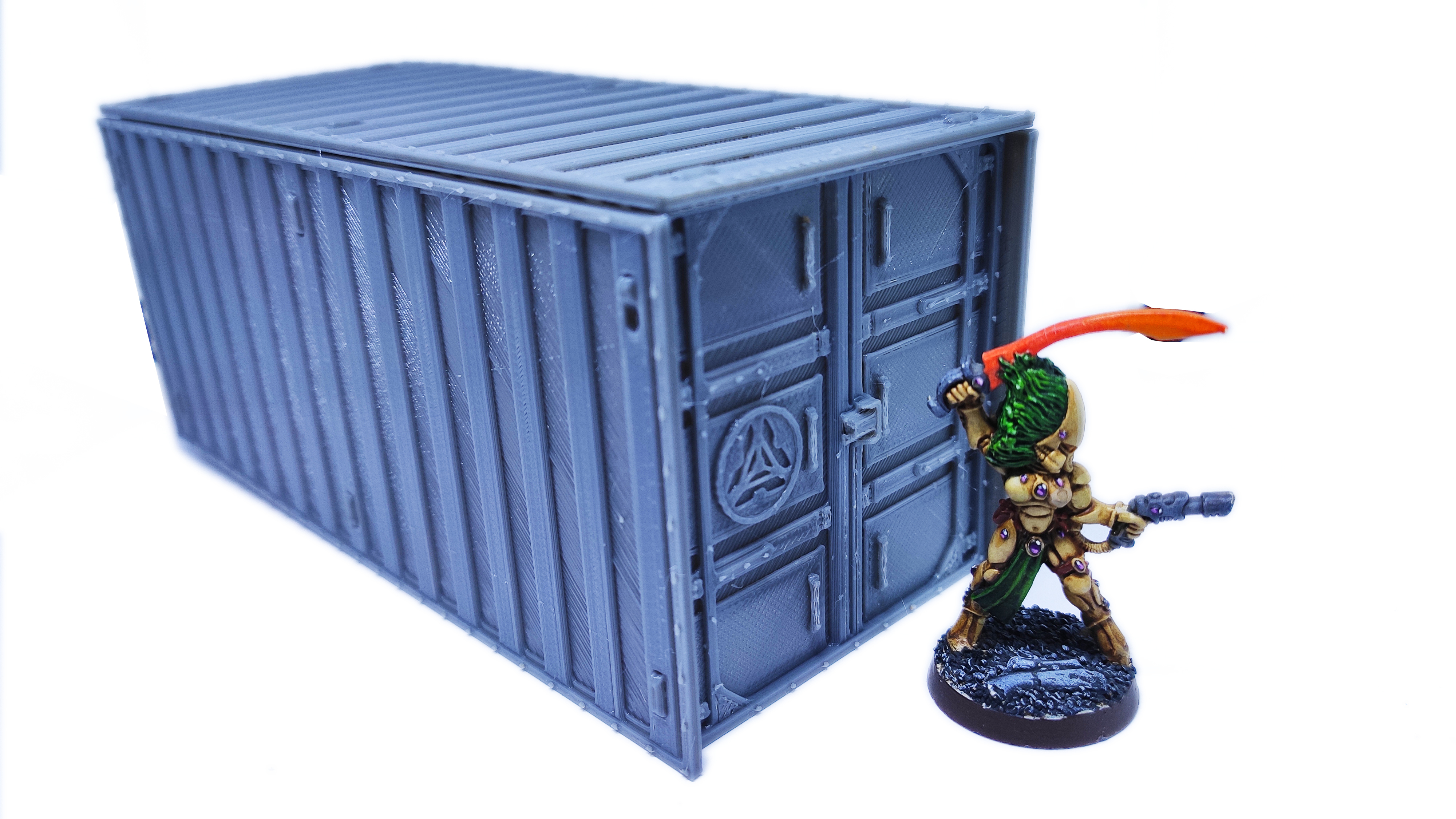 IMG_20200918_073409.jpg Download free STL file Containers for wargame terrain 6.25x6.25x15cm • Template to 3D print, Alario