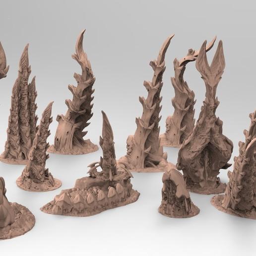 1.jpg Télécharger fichier STL gratuit Tyty bug party terrain remix Part 1 Free 3D print model • Modèle pour imprimante 3D, Alario