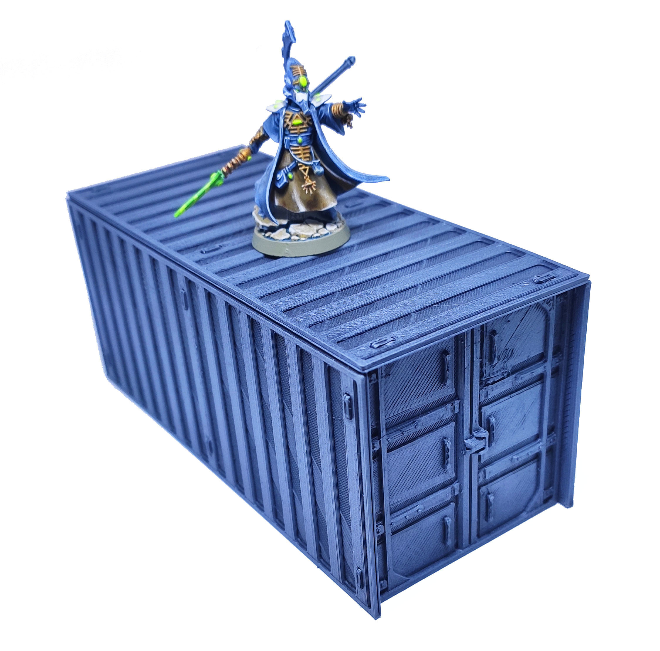 1.jpg Download free STL file Containers for wargame terrain 6.25x6.25x15cm • Template to 3D print, Alario